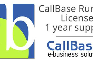 CallBase runtime license, 1 year support